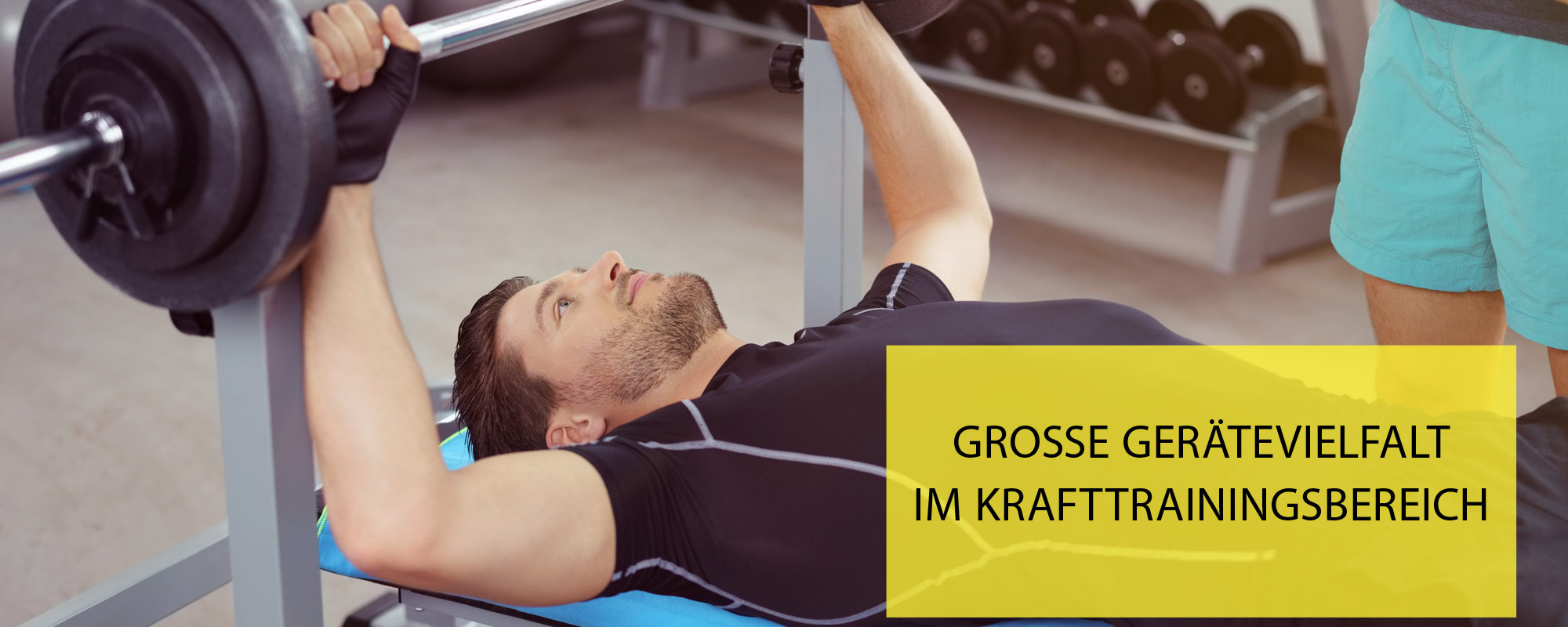 Gerätevielfalt - Pro Fitness Discounter