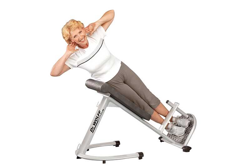 Dr. Wolff Rückenfitness- Pro Fitness Discounter