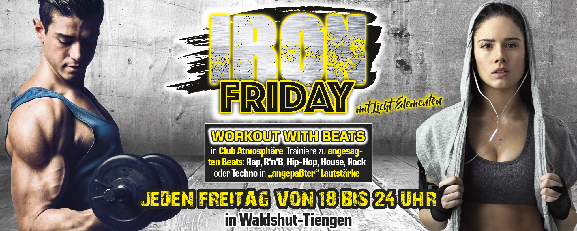 IRON FRIDAY aktion pro-fitness